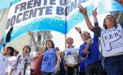Logro del Frente de Unidad  Docente Bonaerense