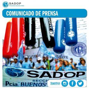 Lee más sobre el artículo SADOP DENUNCIA PRESIONES DE LOS EMPLEADORES