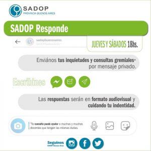 Lee más sobre el artículo SADOP RESPONDE -I-