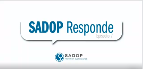 En este momento estás viendo SADOP RESPONDE -VII-