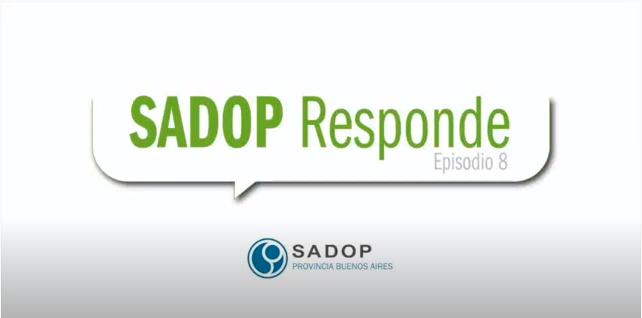 En este momento estás viendo SADOP RESPONDE -VIII-