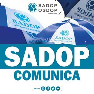 Lee más sobre el artículo SADOP EN LA COMISIÓN TÉCNICA SALARIAL PROVINCIAL