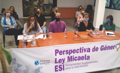 LAS Y LOS DIRIGENTES DE SADOP SE CAPACITARÁN EN PERSPECTIVA DE GÉNERO