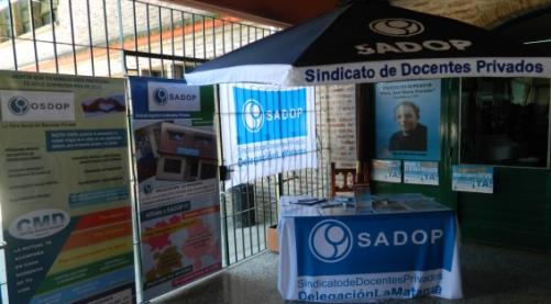 En este momento estás viendo SADOP LA MATANZA EN LA EXPO JOVEN 2012.