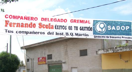 En este momento estás viendo ELECCIÓN DE DELEGADOS EN EL INSTITUTO BENITO QUINQUELA MARTÍN DE LAFERRERE.