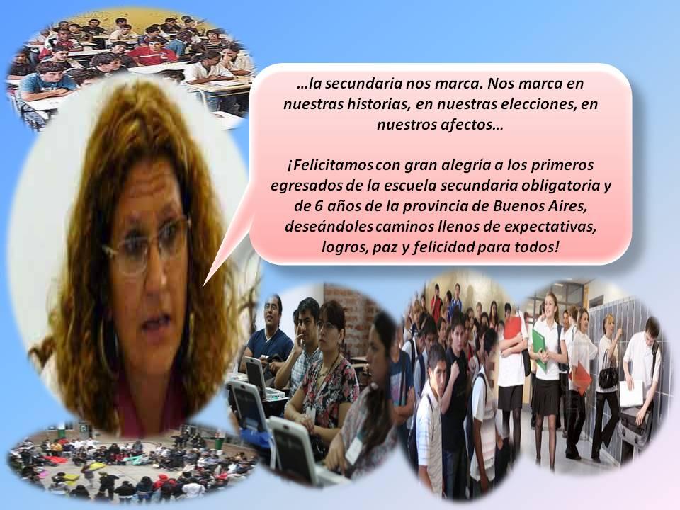 En este momento estás viendo CARTA A LOS PRIMEROS GRADUADOS DE LA ESCUELA SECUNDARIA DE LA PROVINCIA DE BUENOS AIRES
