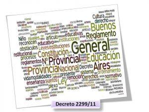 Lee más sobre el artículo REGLAMENTO GENERAL DE LAS INSTITUCIONES EDUCATIVAS DE LA PROVINCIA DE BUENOS AIRES