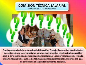 Lee más sobre el artículo COMISIÓN TÉCNICA SALARIAL – 8 de febrero 2013