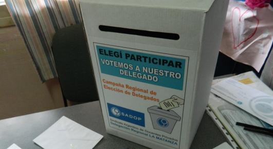 En este momento estás viendo DELEGACION LA MATANZA: CAMPAÑA REGIONAL DE ELECCION DE DELEGADOS DEL SADOP