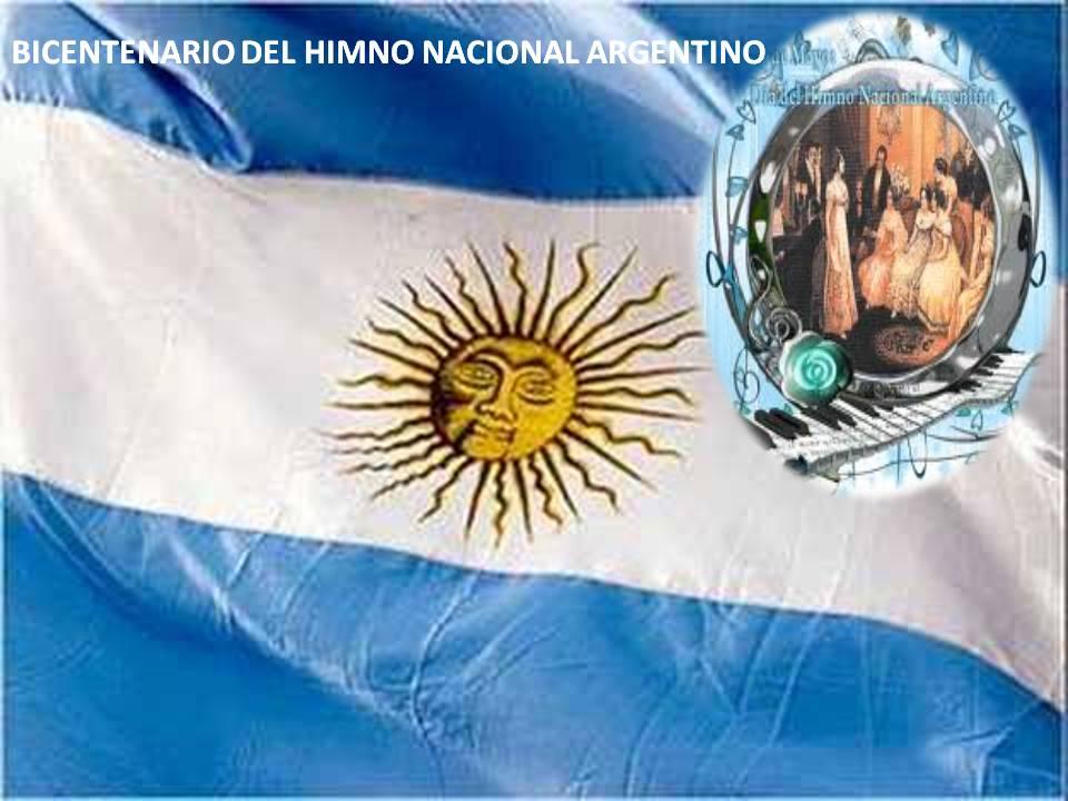En este momento estás viendo BICENTENARIO DEL HIMNO NACIONAL ARGENTINO