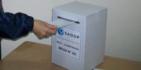 En este momento estás viendo DELEGACIÓN LA MATANZA: El 22 de mayo se eligen las autoridades del Consejo Directivo del SADOP.