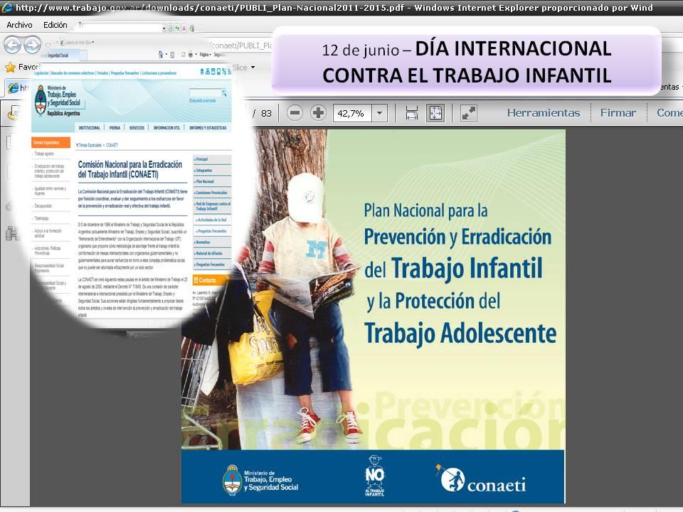 En este momento estás viendo Comisión Nacional para la Erradicación del Trabajo Infantil (CONAETI)
