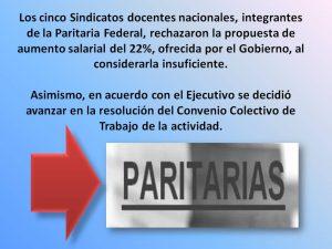 Lee más sobre el artículo SADOP RECHAZÓ LA OFERTA SALARIAL DEL GOBIERNO NACIONAL