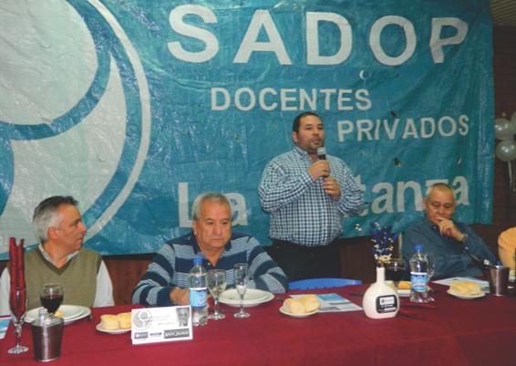 En este momento estás viendo Asunción de autoridades del SADOP La Matanza