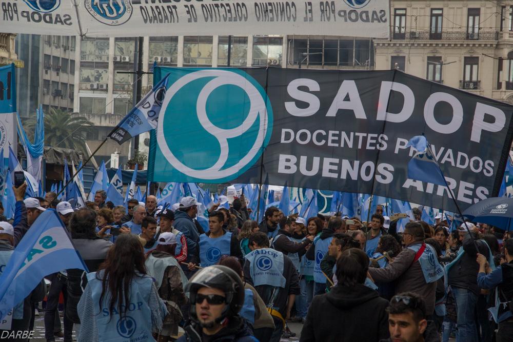 En este momento estás viendo SADOP REALIZA JORNADA NACIONAL DE PROTESTA