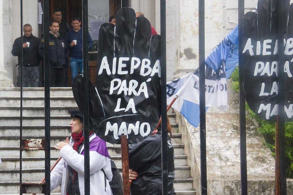 En este momento estás viendo Movilización y DENUNCIA DEL SADOP Pcia. Bs. As.