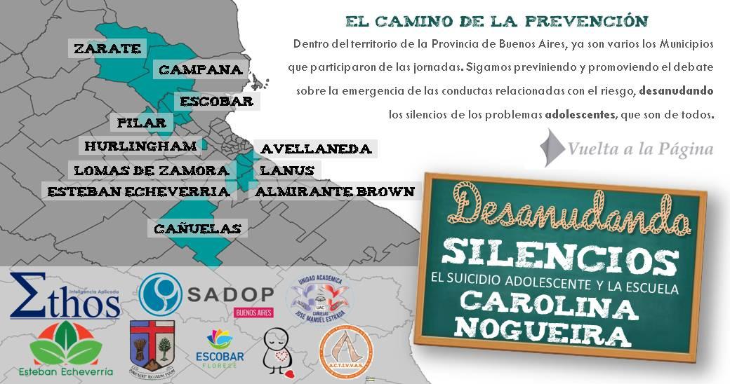 En este momento estás viendo SADOP Pcia. de Buenos Aires en las Jornadas de Prevención del Suicidio Adolescente.