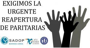 Lee más sobre el artículo JORNADA PROVINCIAL DE PROTESTA DEL SADOP PCIA. de Bs. As.