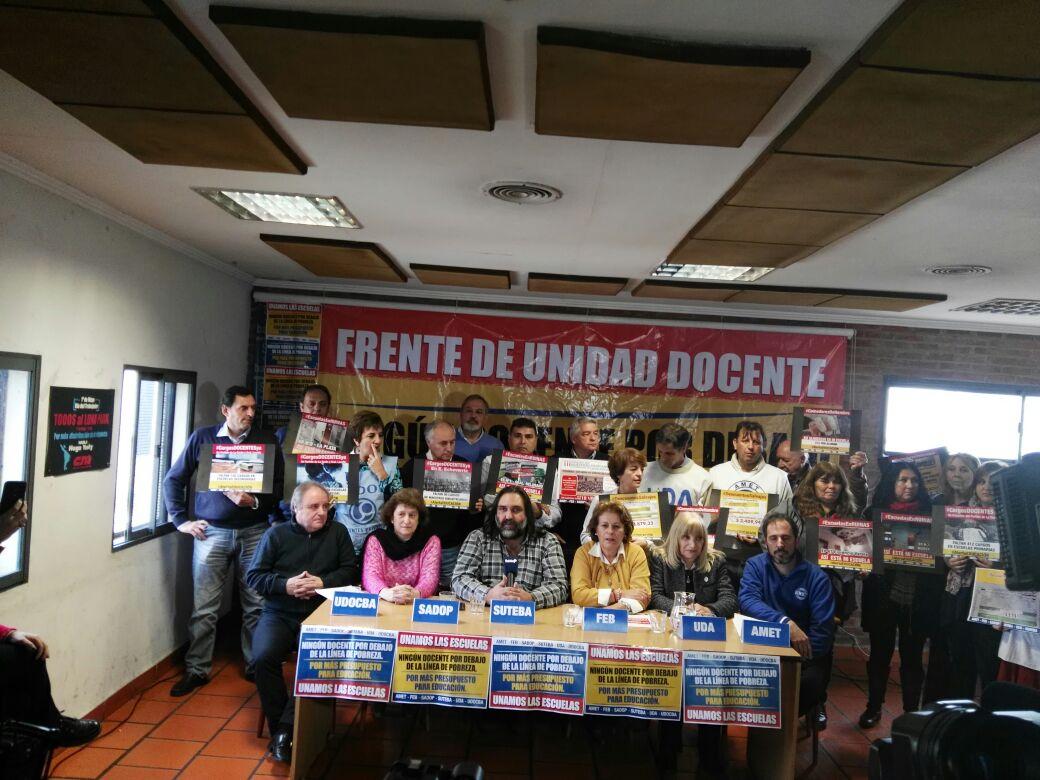En este momento estás viendo SADOP junto a los Gremios del Frente de Unidad Docente Bonaerense DENUNCIA INSENSIBILIDAD del Gobierno y de los Representas Legales de las Escuelas de Gestión Privada