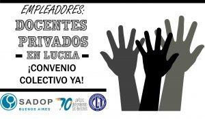 Lee más sobre el artículo CONTINÚAN LAS JORNADAS DE PROTESTA DE LA SECCIONAL PCIA. de BS. AS. del SADOP
