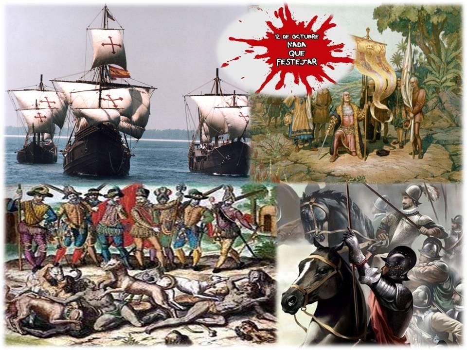 En este momento estás viendo 12 DE OCTUBRE DE 1492, LA PRIMERA INVASIÓN ESPAÑOLA